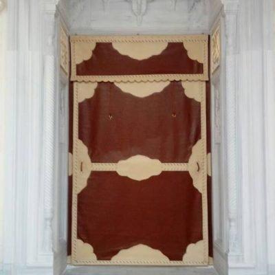 Cami Kapısı Brandası Kahverengi